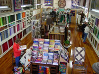 Customers browsing in Heirlooms & Comforts